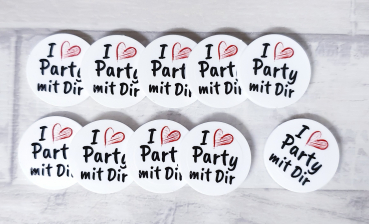 I Love Party mit Dir EKW-Chip