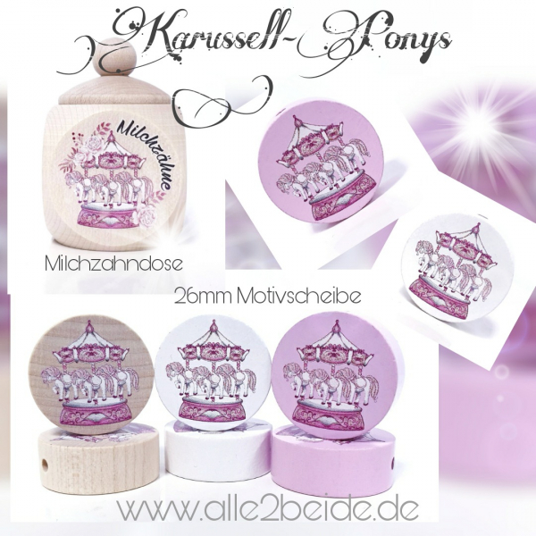 Karussell Pony mehrere MZD